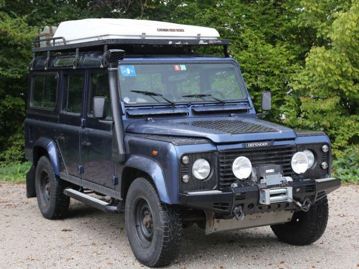Land Rover Defender Station Wagon 110 Td5 E Bleu - 1
