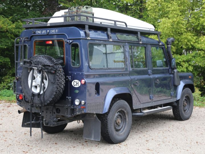 Land Rover Defender Station Wagon 110 Td5 E Bleu - 2