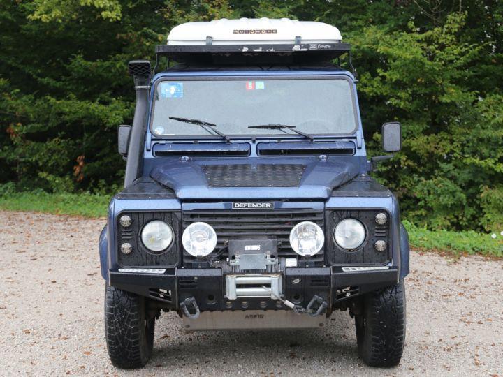 Land Rover Defender Station Wagon 110 Td5 E Bleu - 3