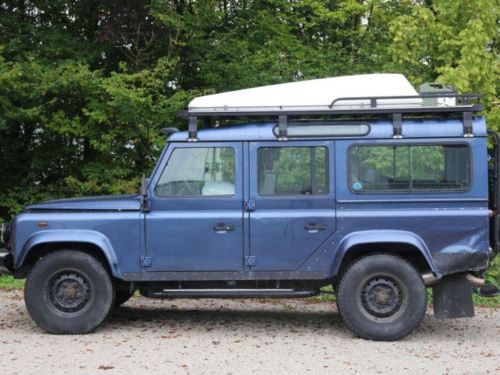 Land Rover Defender Station Wagon 110 Td5 E Bleu - 4