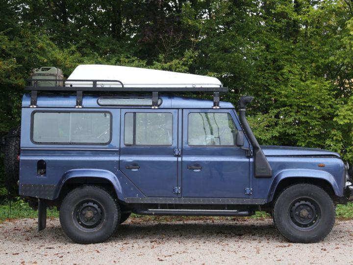 Land Rover Defender Station Wagon 110 Td5 E Bleu - 5