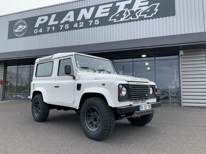 Land Rover Defender Station Wagon 90 TD4 122 CV Blanc - 1