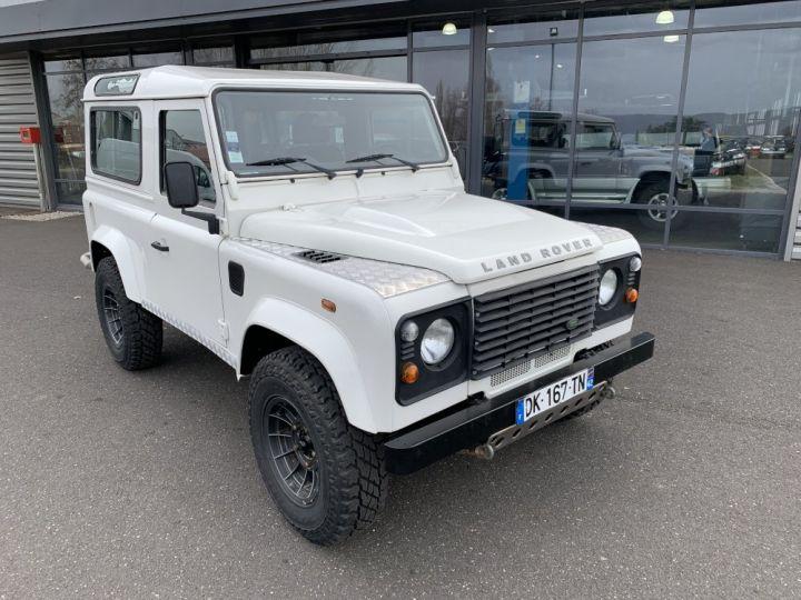 Land Rover Defender Station Wagon 90 TD4 122 CV Blanc - 2