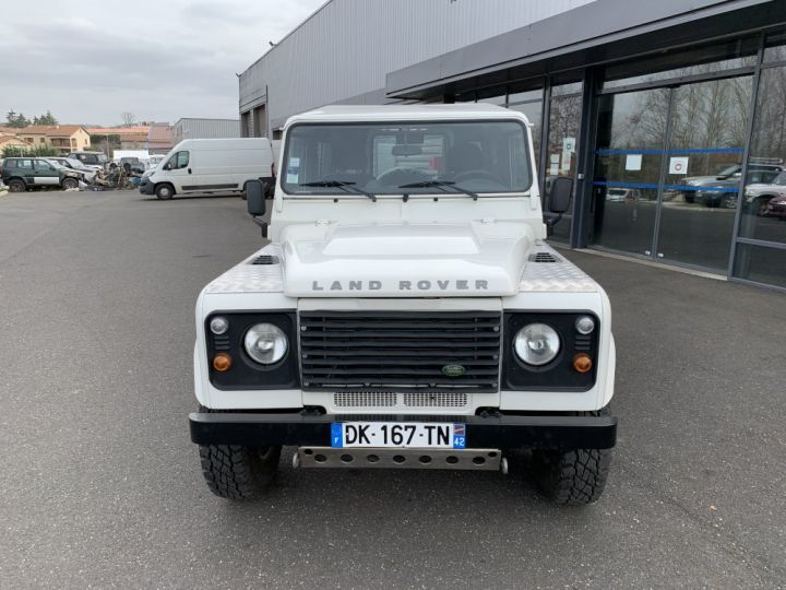 Land Rover Defender Station Wagon 90 TD4 122 CV Blanc - 3