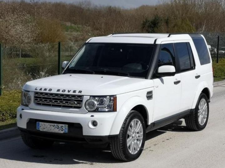 Land Rover Discovery 4 IV 3.0 TDV6 245 HSE BVA Blanc Occasion - 1