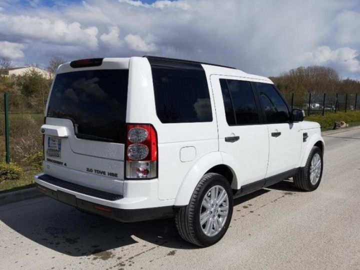 Land Rover Discovery 4 IV 3.0 TDV6 245 HSE BVA Blanc Occasion - 2