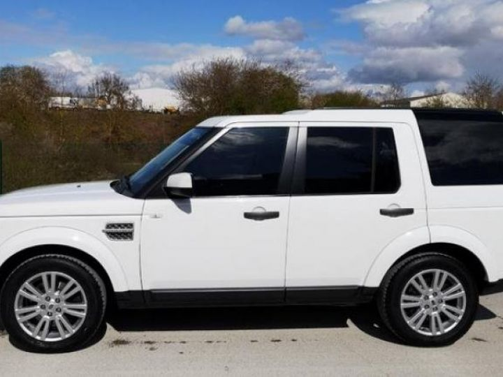 Land Rover Discovery 4 IV 3.0 TDV6 245 HSE BVA Blanc Occasion - 5