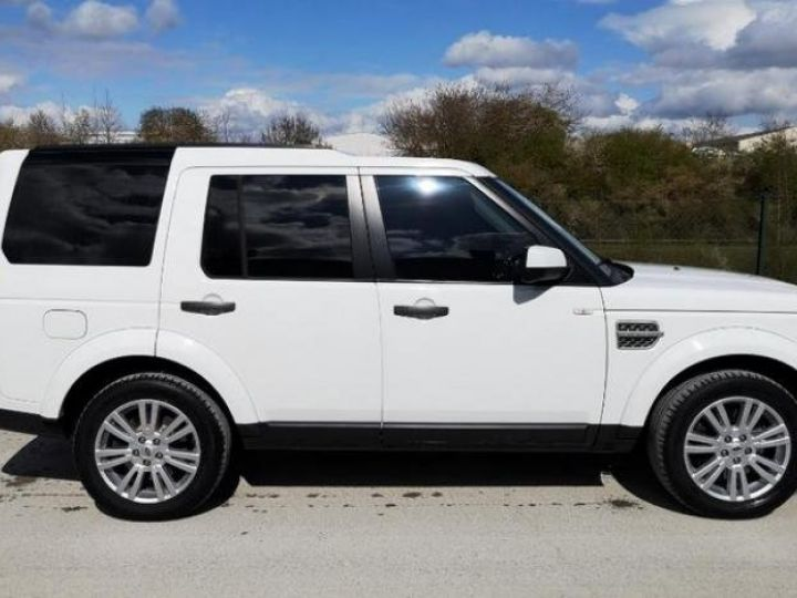 Land Rover Discovery 4 IV 3.0 TDV6 245 HSE BVA Blanc Occasion - 8