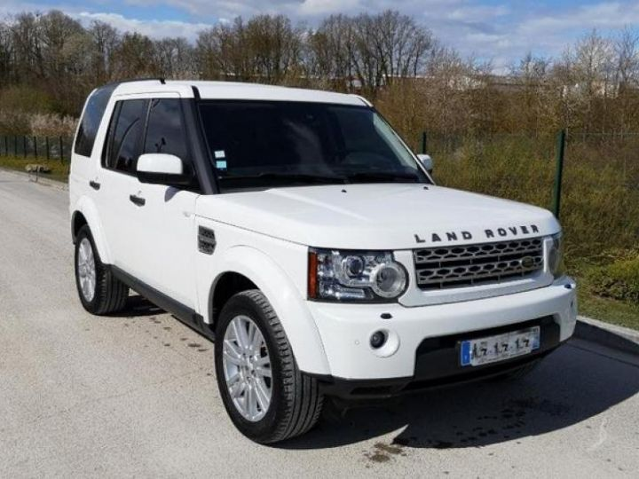 Land Rover Discovery 4 IV 3.0 TDV6 245 HSE BVA Blanc Occasion - 9
