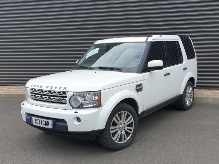 Land Rover Discovery 4 iv tdv6 245 hse bva t Blanc Occasion - 1