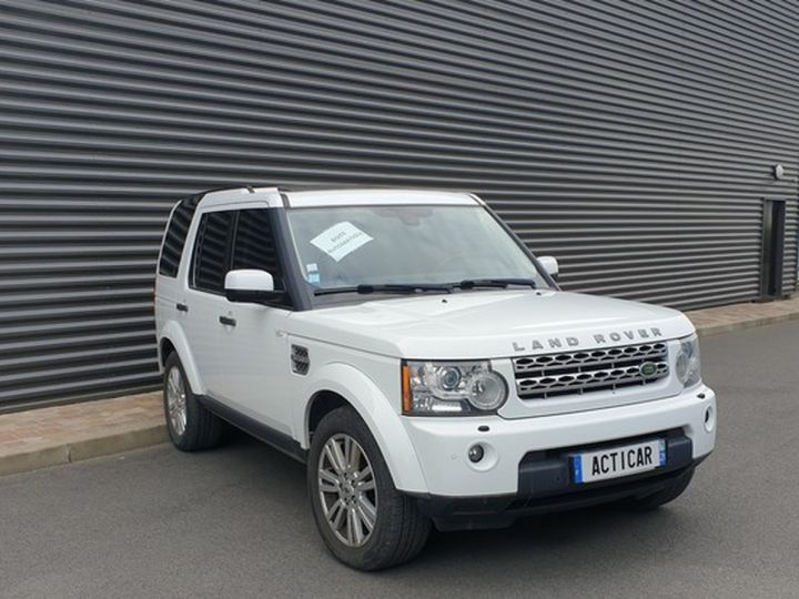 Land Rover Discovery 4 iv tdv6 245 hse bva t Blanc Occasion - 2