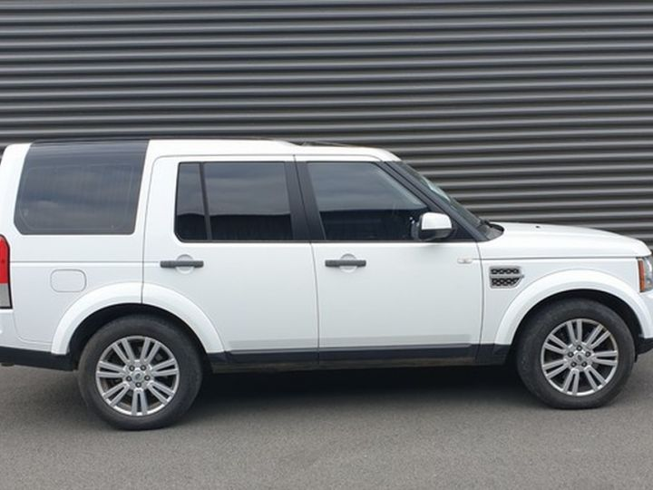 Land Rover Discovery 4 iv tdv6 245 hse bva t Blanc Occasion - 4
