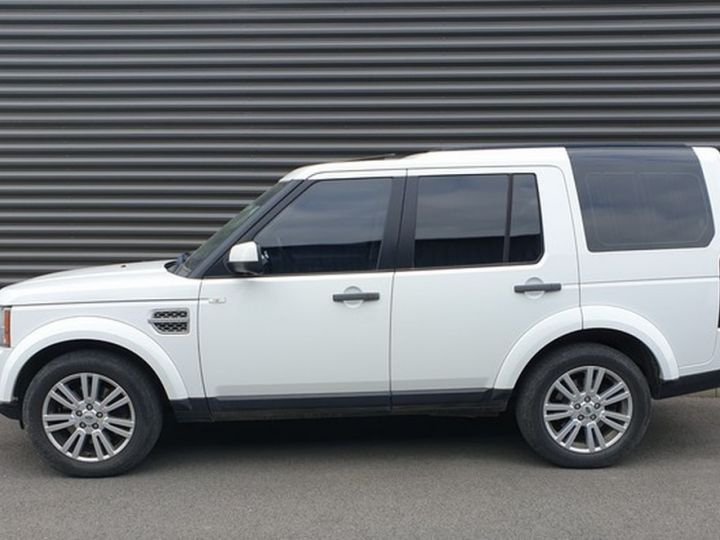 Land Rover Discovery 4 iv tdv6 245 hse bva t Blanc Occasion - 5