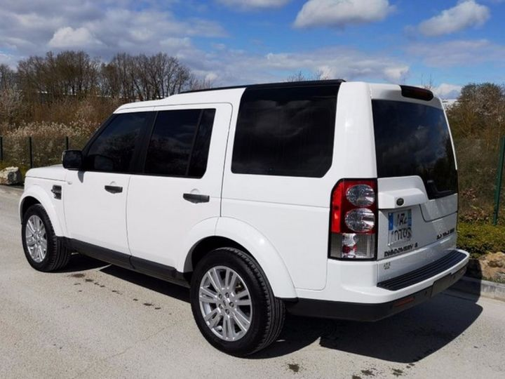 Land Rover Discovery IV TDV6 245 HSE BVA Ill Blanc Occasion - 2
