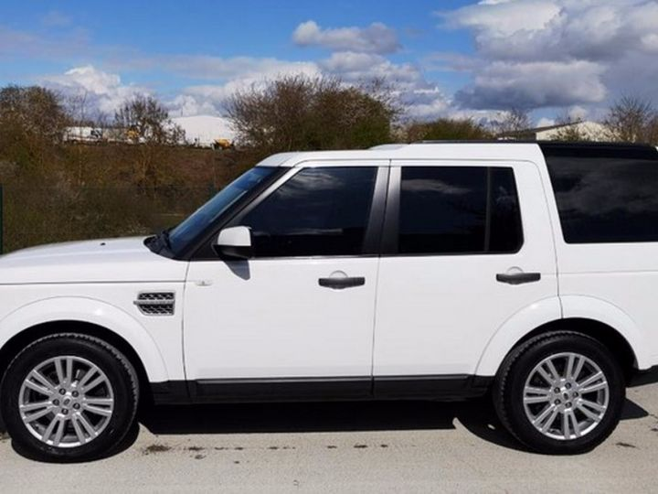 Land Rover Discovery IV TDV6 245 HSE BVA Ill Blanc Occasion - 11