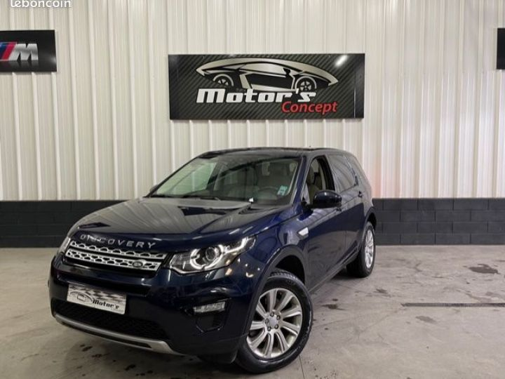 Land Rover Discovery Sport 2.0 TD4 150 CV 1ere MAIN CARNET COMPLET  - 1