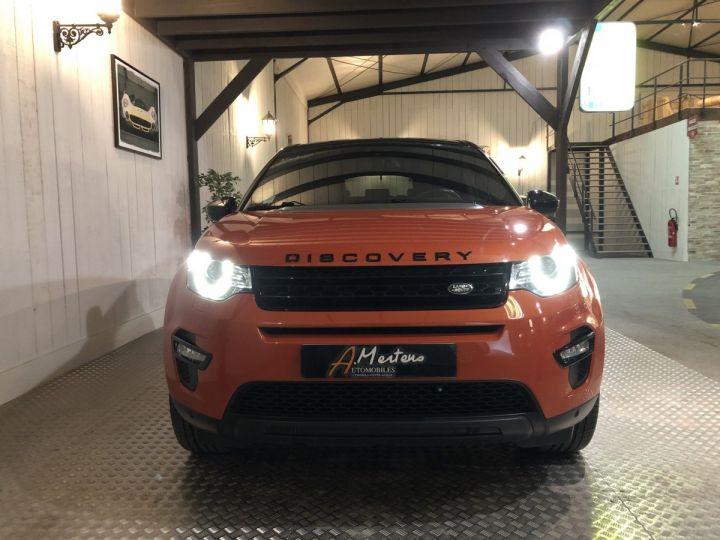 Land Rover Discovery Sport 2.0 TD4 180 CV HSE BVA Orange - 3