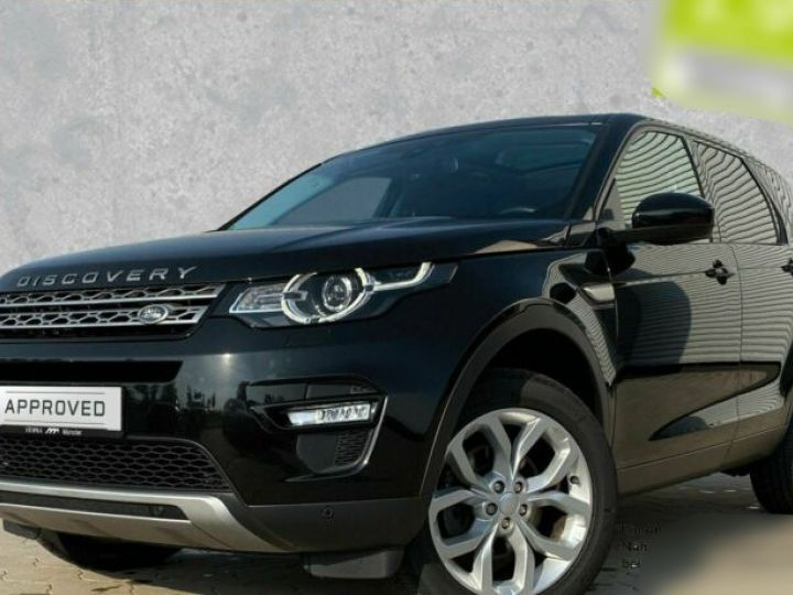 Land Rover Discovery Sport 2.0 TD4 180ch AWD HSE Noir - 1