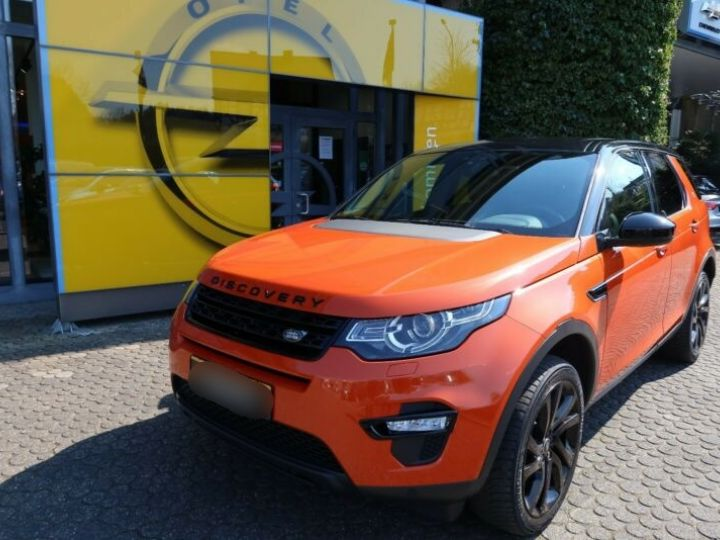 Land Rover Discovery Sport 2.0 TD4 180ch AWD HSE Orange - 1