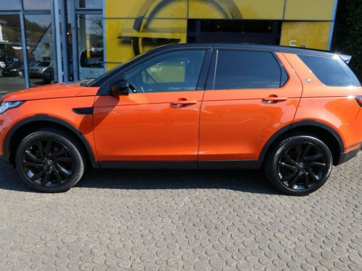 Land Rover Discovery Sport 2.0 TD4 180ch AWD HSE Orange - 3