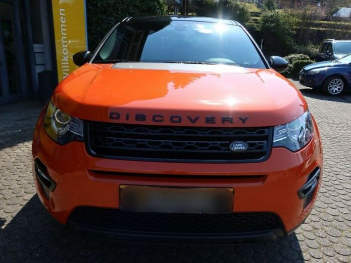 Land Rover Discovery Sport 2.0 TD4 180ch AWD HSE Orange - 6