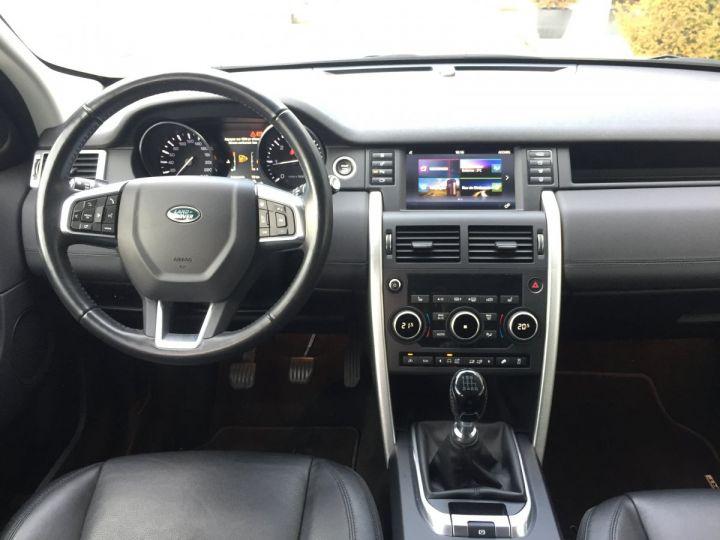 Land Rover Discovery Sport 2,2L SE TD4 4X4 NOIR SANTORINI - 7
