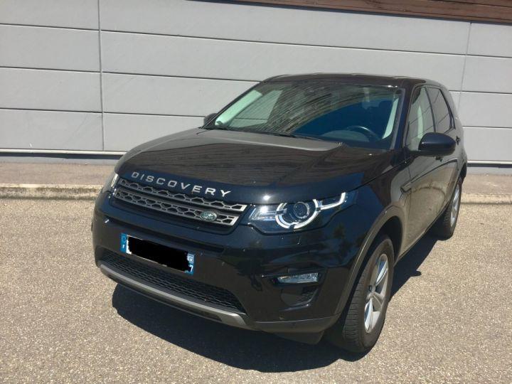 Land Rover Discovery Sport 2,2L SE TD4 4X4 NOIR SANTORINI - 11