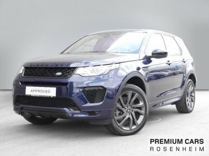 Land Rover Discovery Sport Discovery Sport 2.0 Si4 AWD HSE Luxe bleu - 11