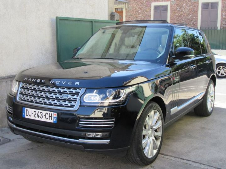 Land Rover Range Rover 4.4 SDV8 340CH AUTOBIOGRAPHY NOIR Occasion - 1