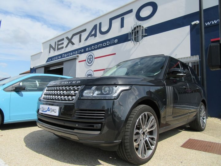 Land Rover Range Rover 4.4 SDV8 AUTOBIOGRAPHY GRIS Occasion - 1