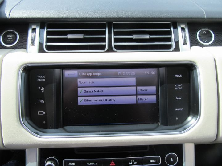 Land Rover Range Rover 4.4 SDV8 AUTOBIOGRAPHY GRIS Occasion - 15