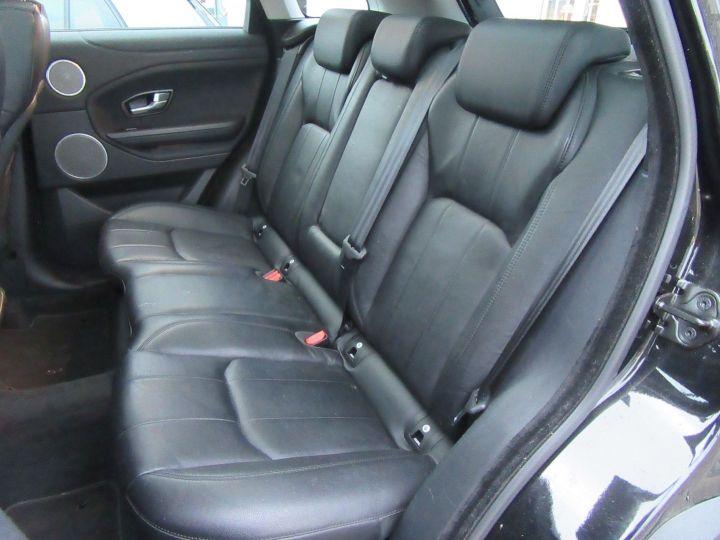 Land Rover Range Rover Evoque 2.0 TD4 180 BUSINESS BVA MARK V Noir - 14