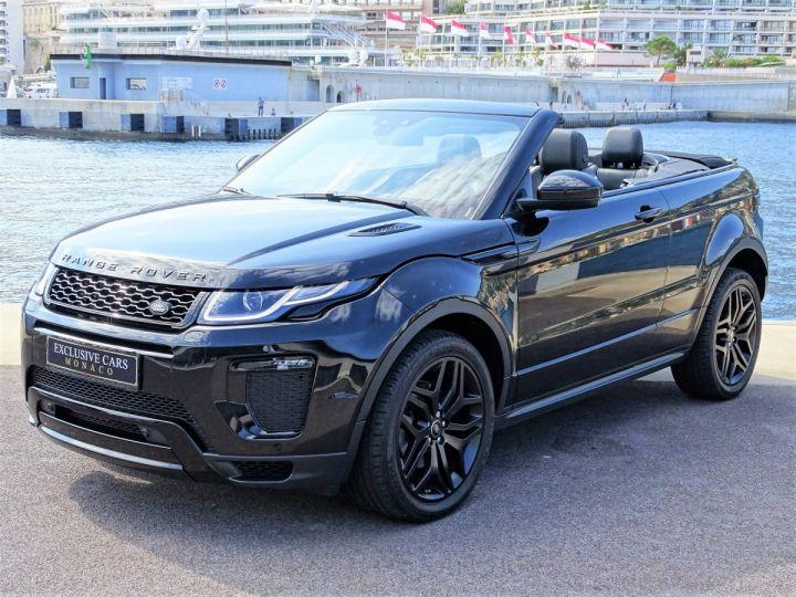 Land Rover Range Rover Evoque 2.0 TD4 HSE DYNAMIC 180 CV BLACK LINE - MONACO Noir Métal  - 1