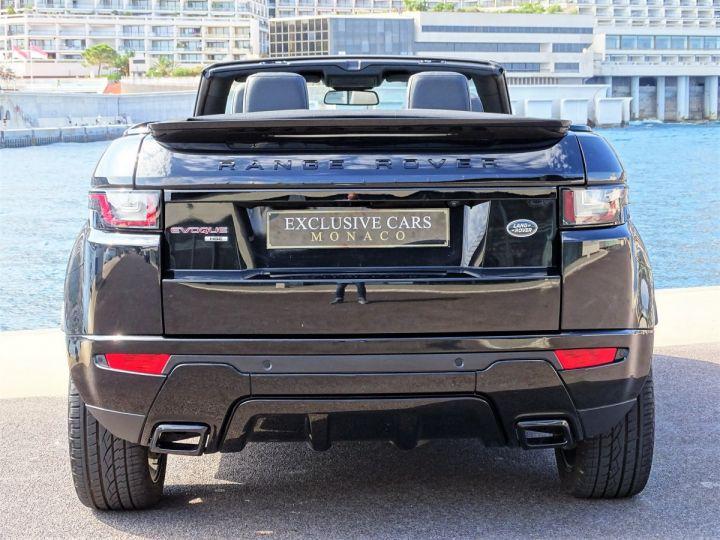 Land Rover Range Rover Evoque 2.0 TD4 HSE DYNAMIC 180 CV BLACK LINE - MONACO Noir Métal  - 6