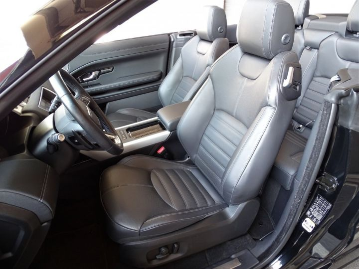 Land Rover Range Rover Evoque 2.0 TD4 HSE DYNAMIC 180 CV BLACK LINE - MONACO Noir Métal  - 8