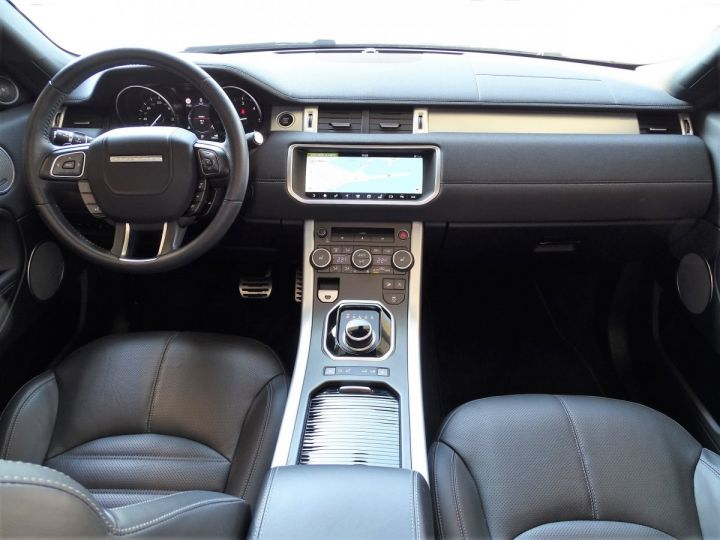 Land Rover Range Rover Evoque 2.0 TD4 HSE DYNAMIC 180 CV BLACK LINE - MONACO Noir Métal  - 9