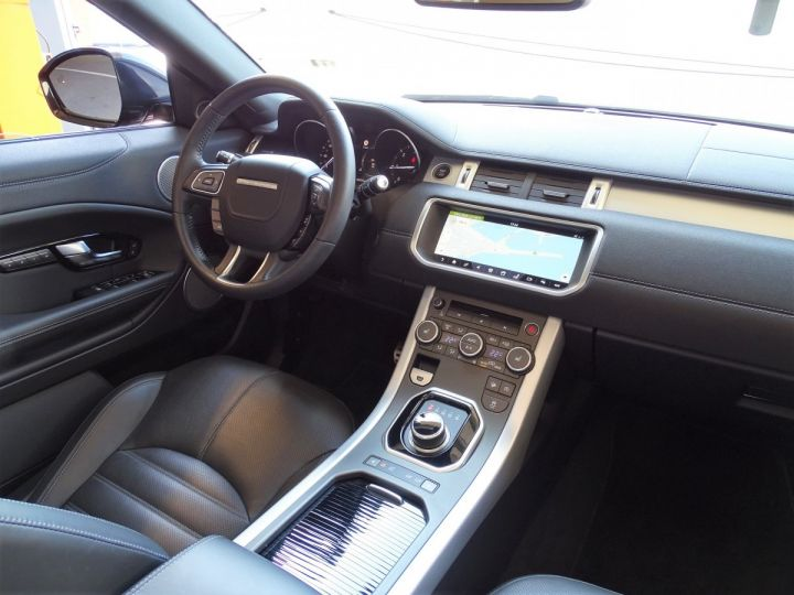 Land Rover Range Rover Evoque 2.0 TD4 HSE DYNAMIC 180 CV BLACK LINE - MONACO Noir Métal  - 11