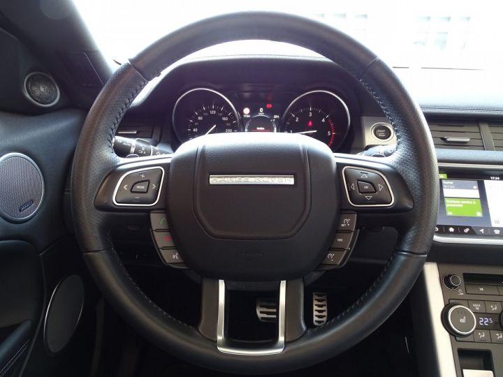 Land Rover Range Rover Evoque 2.0 TD4 HSE DYNAMIC 180 CV BLACK LINE - MONACO Noir Métal  - 13