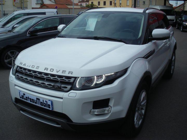 Land Rover Range Rover Evoque 2.2 TD4 4x4 150cv blanc - 1