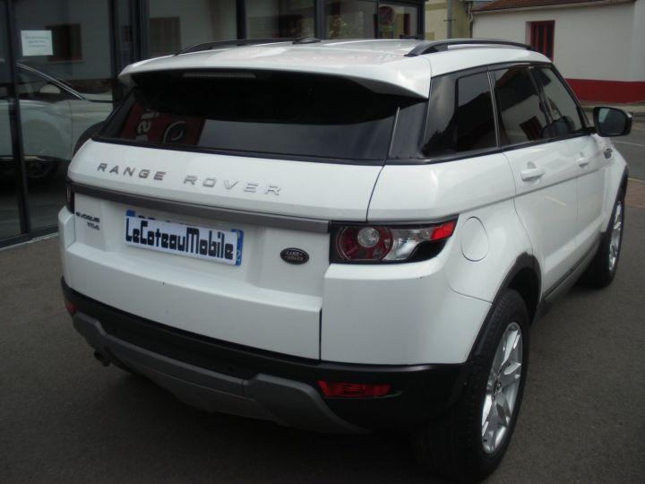 Land Rover Range Rover Evoque 2.2 TD4 4x4 150cv blanc - 5