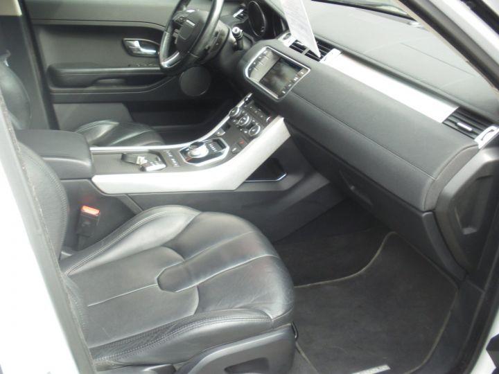 Land Rover Range Rover Evoque 2.2 TD4 4x4 150cv blanc - 8
