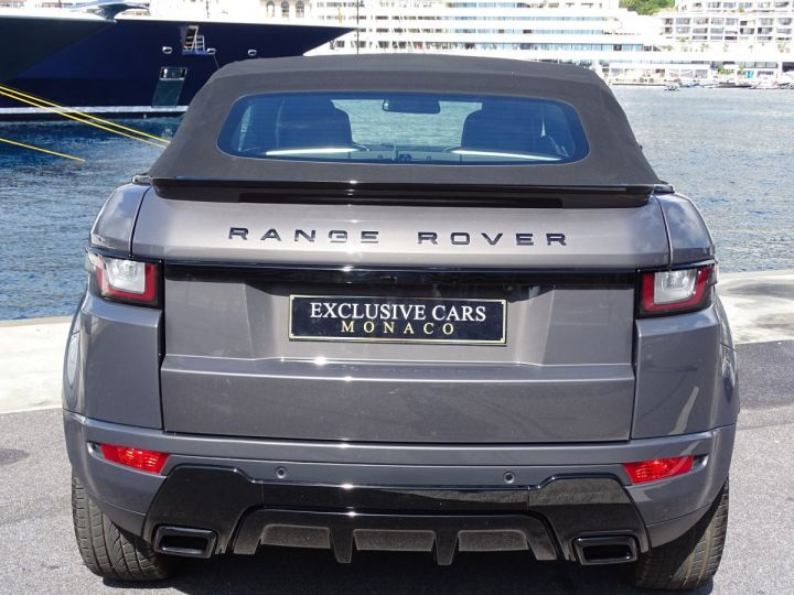Land Rover Range Rover Evoque CABRIOLET 2.0 TD4 HSE DYNAMIC 180 CV BLACK LINE Gris Métal  - 14