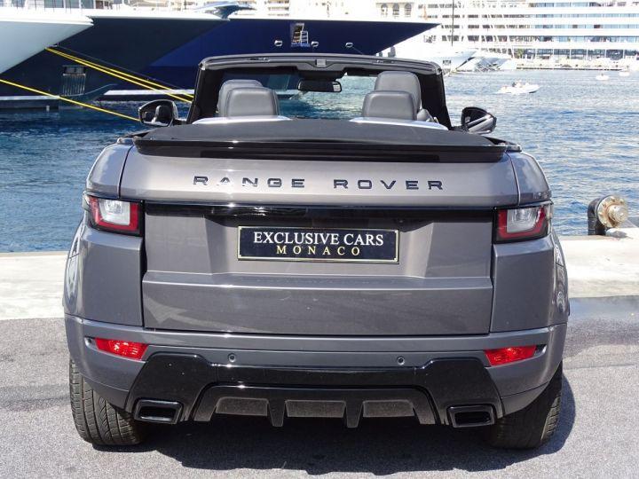Land Rover Range Rover Evoque CABRIOLET 2.0 TD4 HSE DYNAMIC 180 CV BLACK LINE Gris Métal  - 16