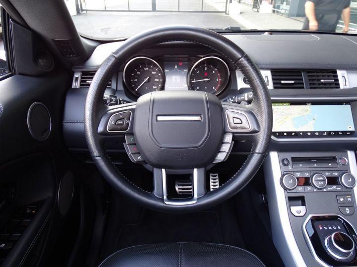 Land Rover Range Rover Evoque CABRIOLET 2.0 TD4 HSE DYNAMIC 180 CV BLACK LINE Gris Métal  - 18