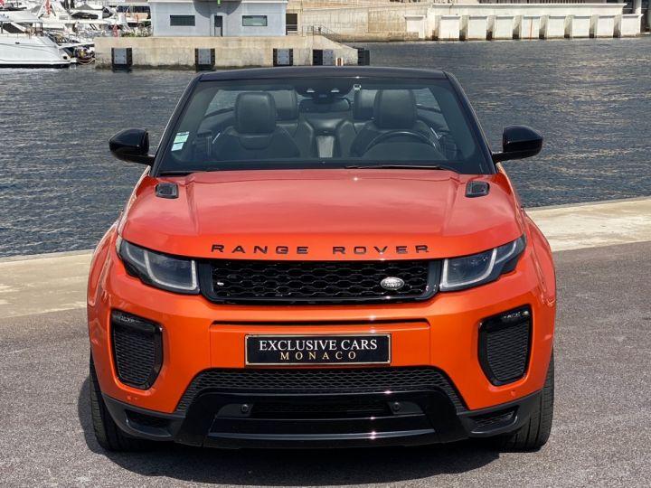Land Rover Range Rover Evoque CABRIOLET 2.0 TD4 HSE DYNAMIC 180 CV - MONACO Orange Métal - 2
