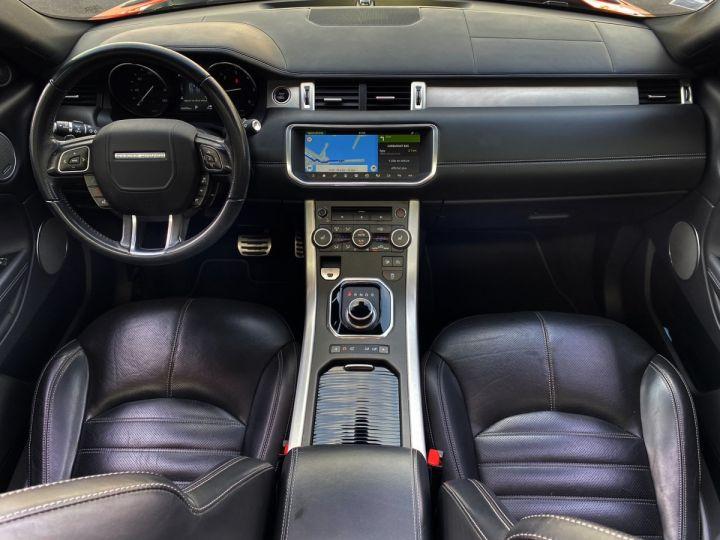 Land Rover Range Rover Evoque CABRIOLET 2.0 TD4 HSE DYNAMIC 180 CV - MONACO Orange Métal - 11