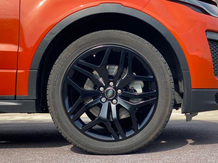 Land Rover Range Rover Evoque CABRIOLET 2.0 TD4 HSE DYNAMIC 180 CV - MONACO Orange Métal - 13