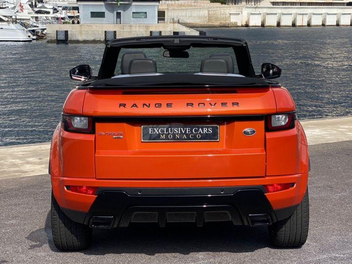 Land Rover Range Rover Evoque CABRIOLET 2.0 TD4 HSE DYNAMIC 180 CV - MONACO Orange Métal - 15