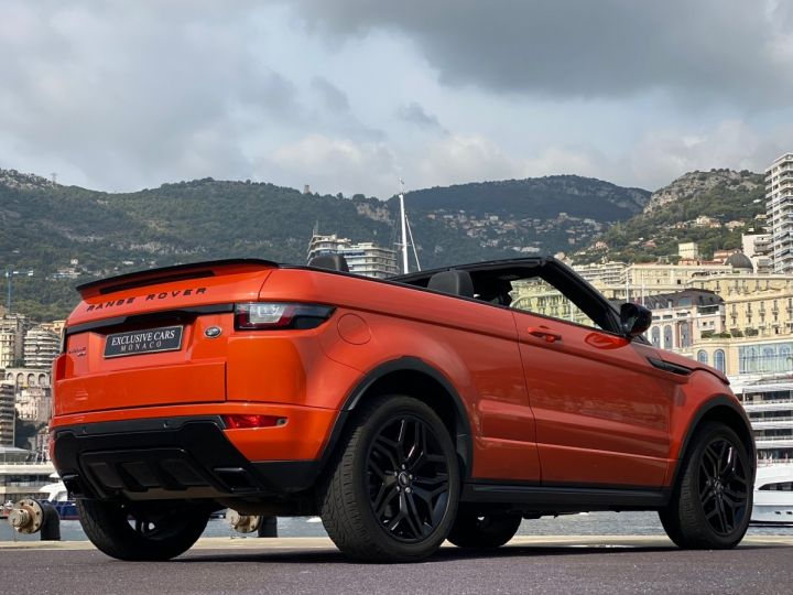 Land Rover Range Rover Evoque CABRIOLET 2.0 TD4 HSE DYNAMIC 180 CV - MONACO Orange Métal - 17