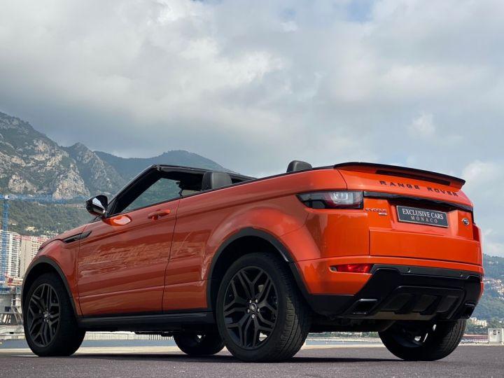 Land Rover Range Rover Evoque CABRIOLET 2.0 TD4 HSE DYNAMIC 180 CV - MONACO Orange Métal - 18